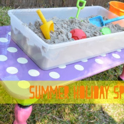 Summer holiday special – DIY Sand and Water Play Table