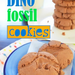 After-school snack – Dino Fossil cookies