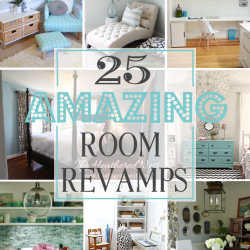 I've been featured! 25 Amazing Room Revamps