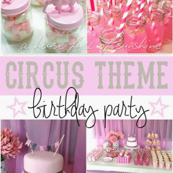 Pink circus party reveal!