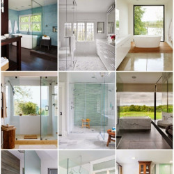 Get the Look: 35 Beautiful Bathrooms with Frameless Glass