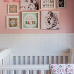 A little girl's gallery wall… and a room reveal!