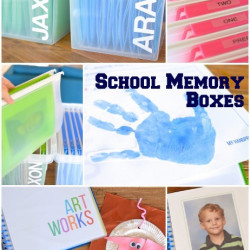 School memory boxes