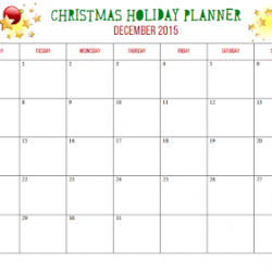 Christmas Holiday Planner – FREE printable!
