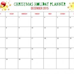 Christmas Holiday Planner – FREE printable!