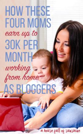 Moms who earn 30K pin