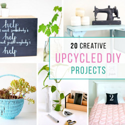20 Creative Upcycled DIY projects