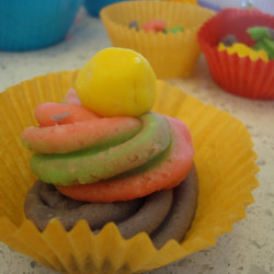 Rainbow playdough ice-cream shoppe!