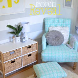 Theo's surprise nursery makeover Part Two: room reveal!