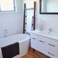 A beachified bathroom