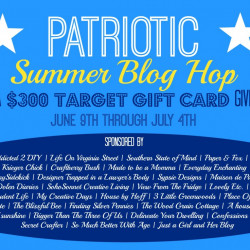 Summer blog hop and a $300 target gift card giveaway!