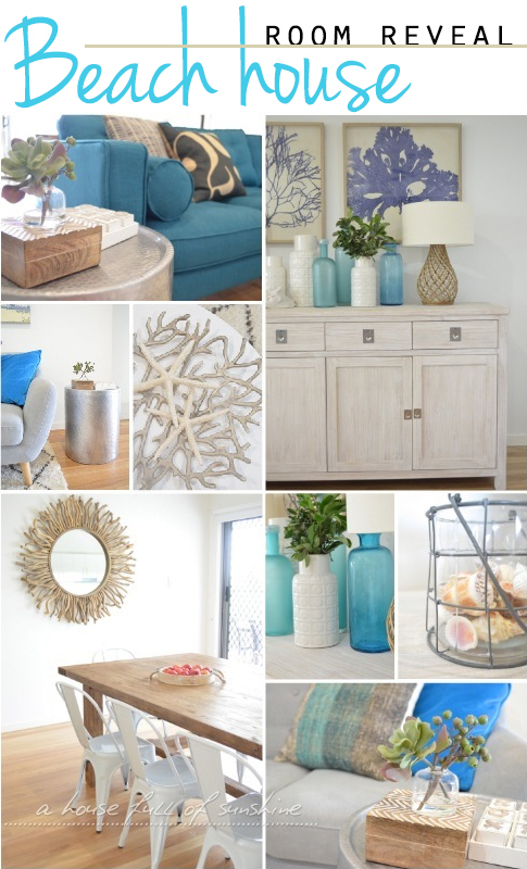Welcome to our beach house a house full of sunshine for Small beach house decorating ideas