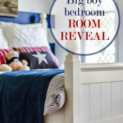 Jaxon's big boy bedroom – room reveal!