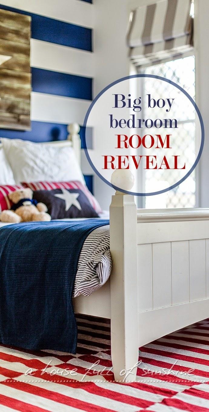 From Junk Room To Beautiful Bedroom The Big Reveal: Jaxon's Big Boy Bedroom - Room Reveal!