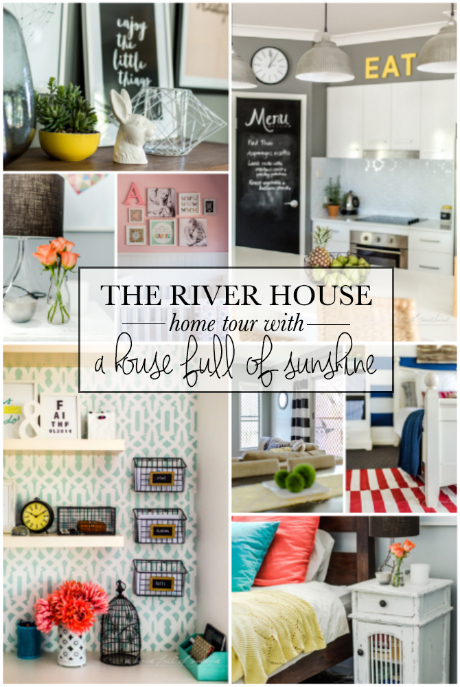River house full size pin