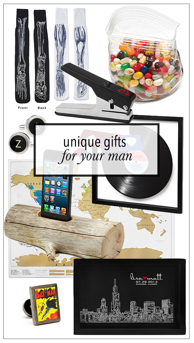 Unique gift ideas for guys