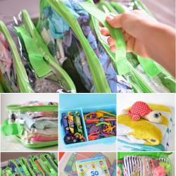 Packing for kids – with FREE printable and a giveaway!