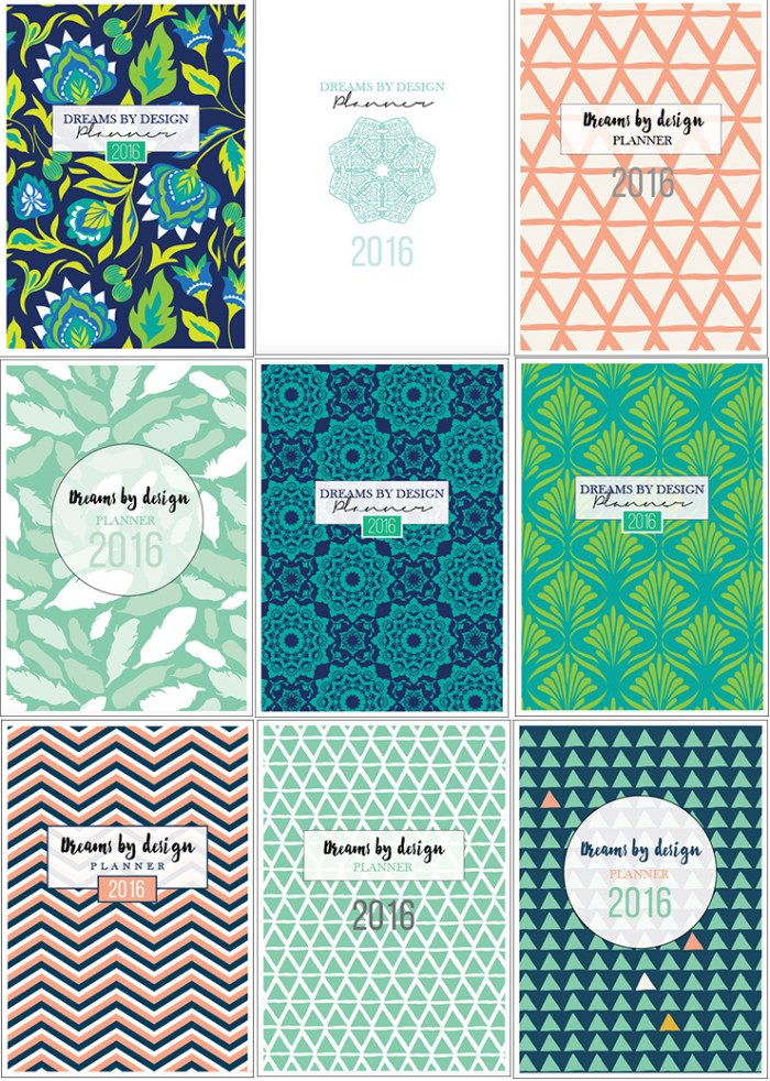 Dreams by Design Planner 2016