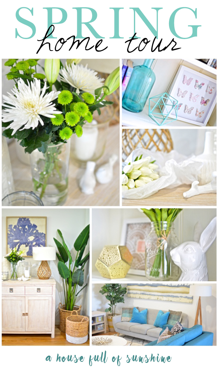 Spring home tour pin