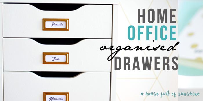 Study drawer organisation Facebook image