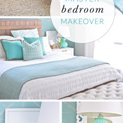 ROOM REVEAL: Our Master bedroom before and after!
