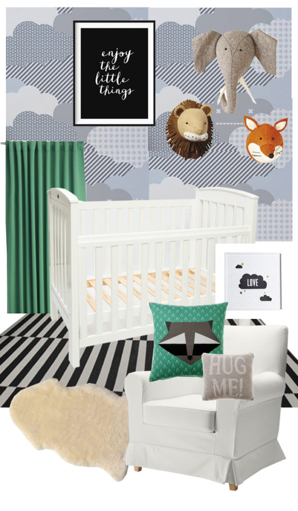 One Room challenge nursery