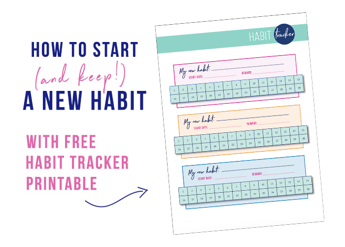 picture about Habit Tracker Free Printable named How toward start off (and maintain) a fresh pattern with Free of charge behavior