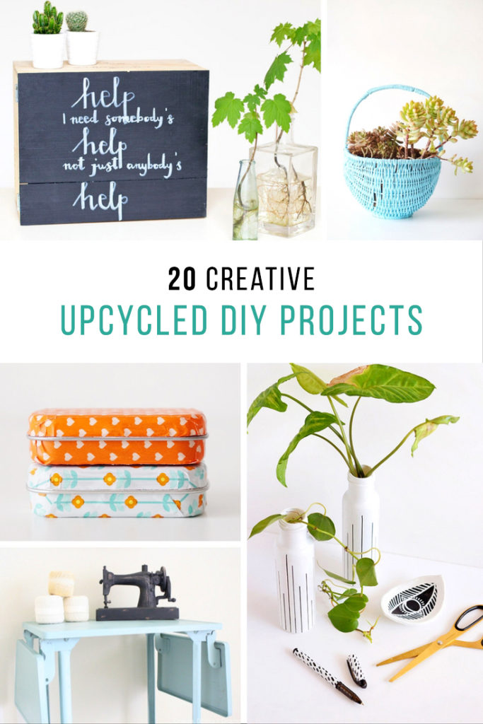 Upcycled DIY projects