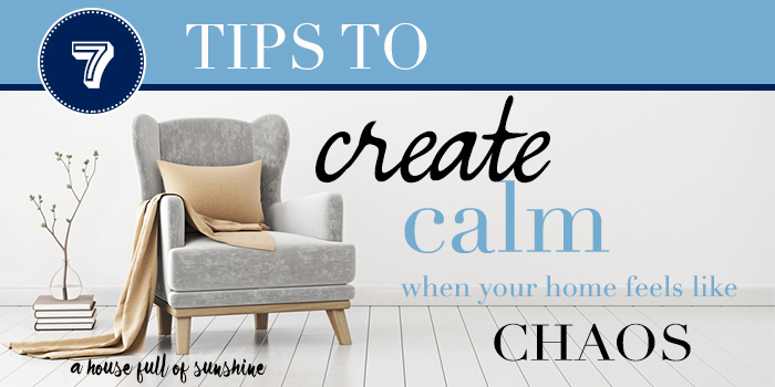 7 tips for Calm home