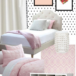 Allegra's big girl bedroom… the mood board