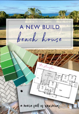 A new build beach house
