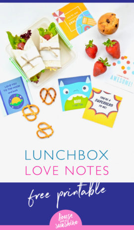 Lunchbox love notes
