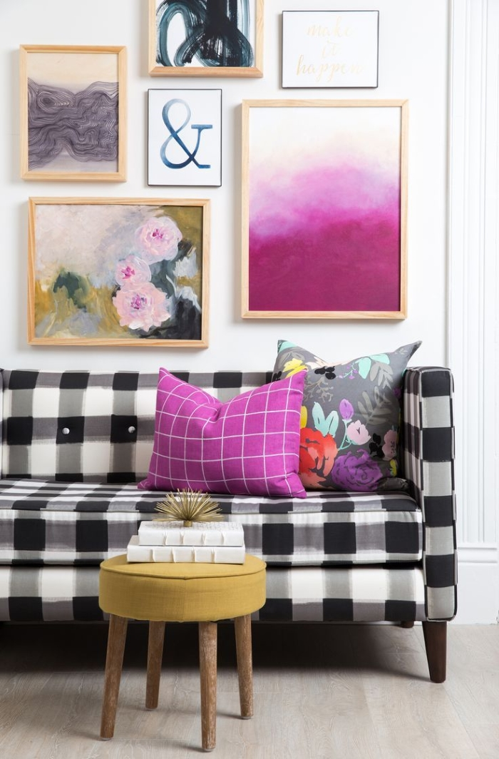Décor trend: Buffalo Check | A House Full of Sunshine