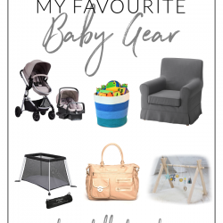 My favourite baby gear