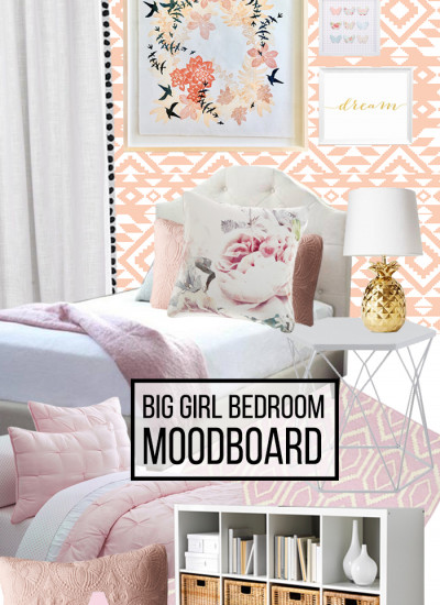 Big girl bedroom