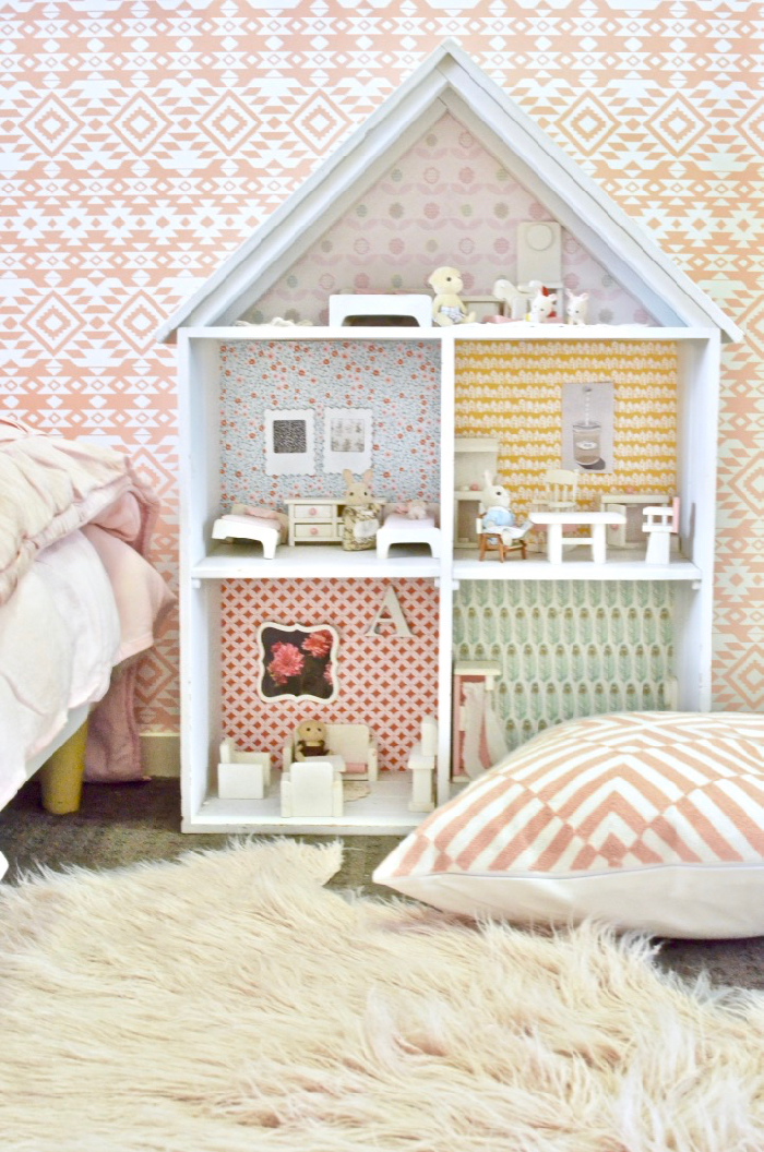 Big girl bedroom room reveal