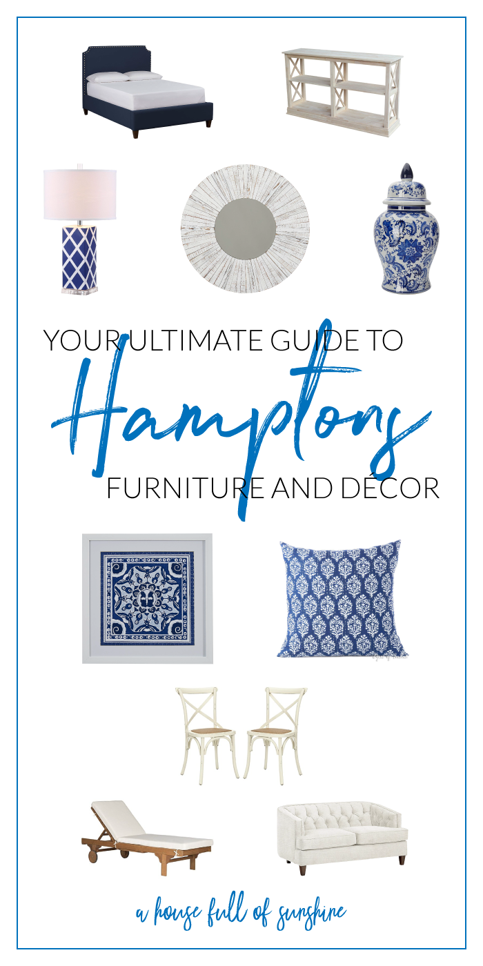 Your ultimate guide to Hamptons style