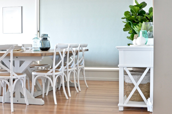 Hamptons dining room reveal