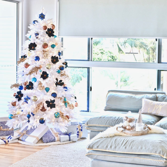 Our new white Christmas tree... | A