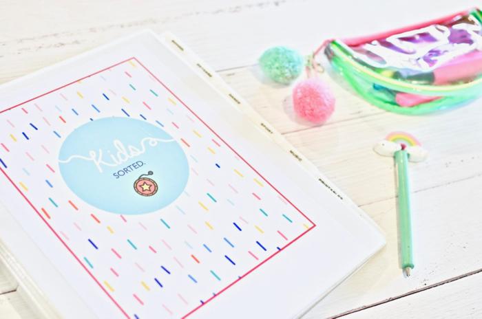 How to organise kids paperwork